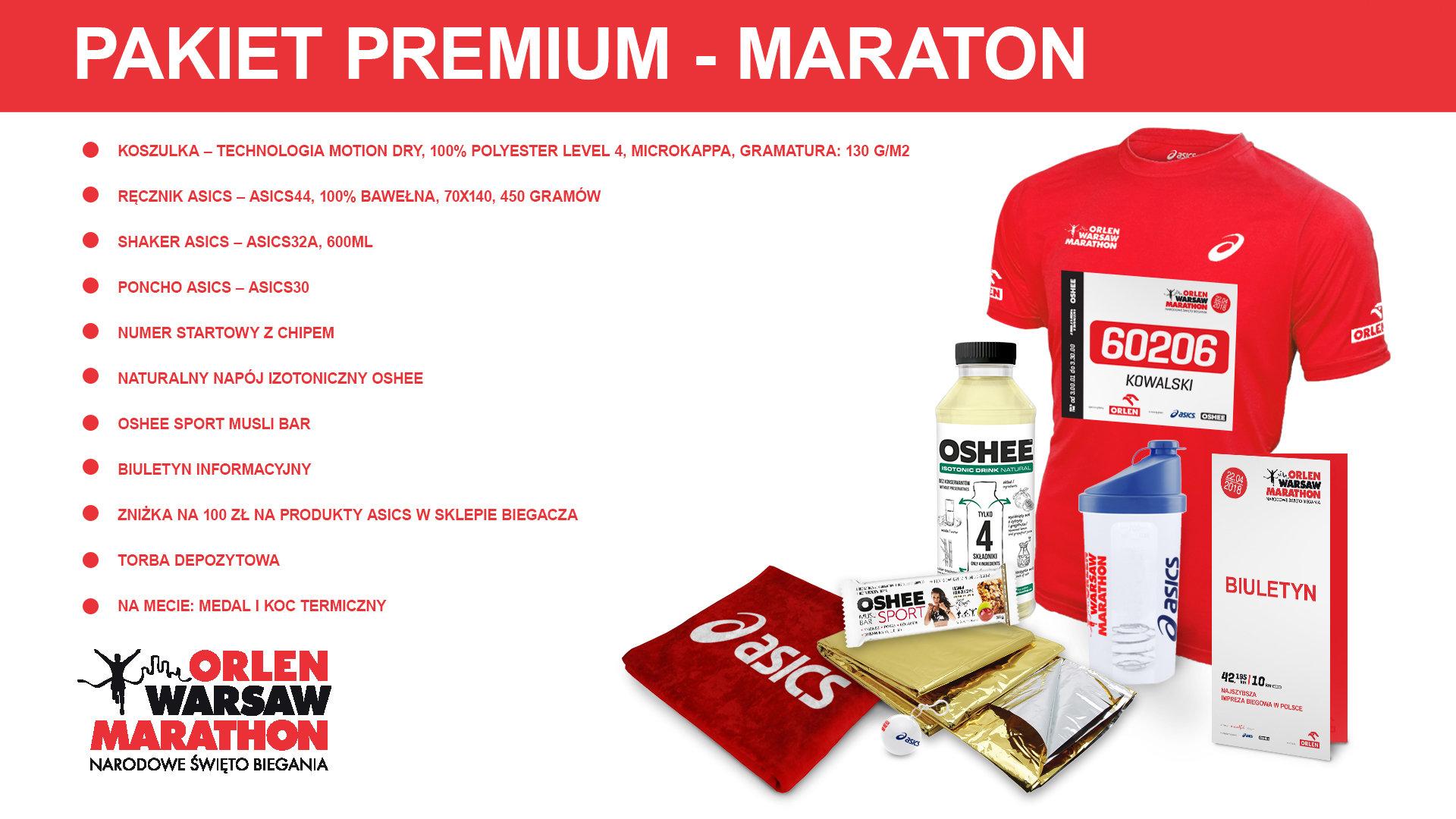 Znamy skład pakietów startowych na ORLEN Warsaw Marathon!