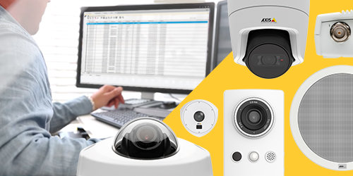 Axis lanceert Device Manager