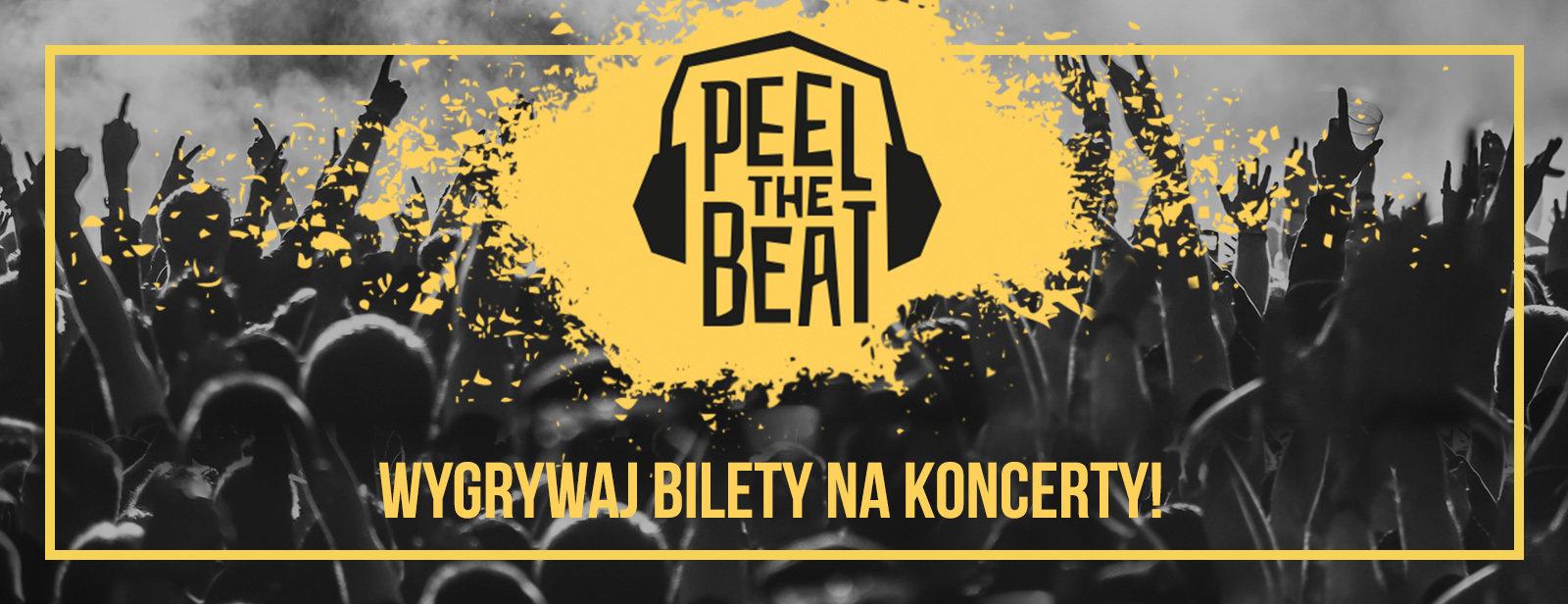 Peel The Beat! Na koncerty największych gwiazd światowej sceny muzycznej zapraszają Hand Made i William Peel