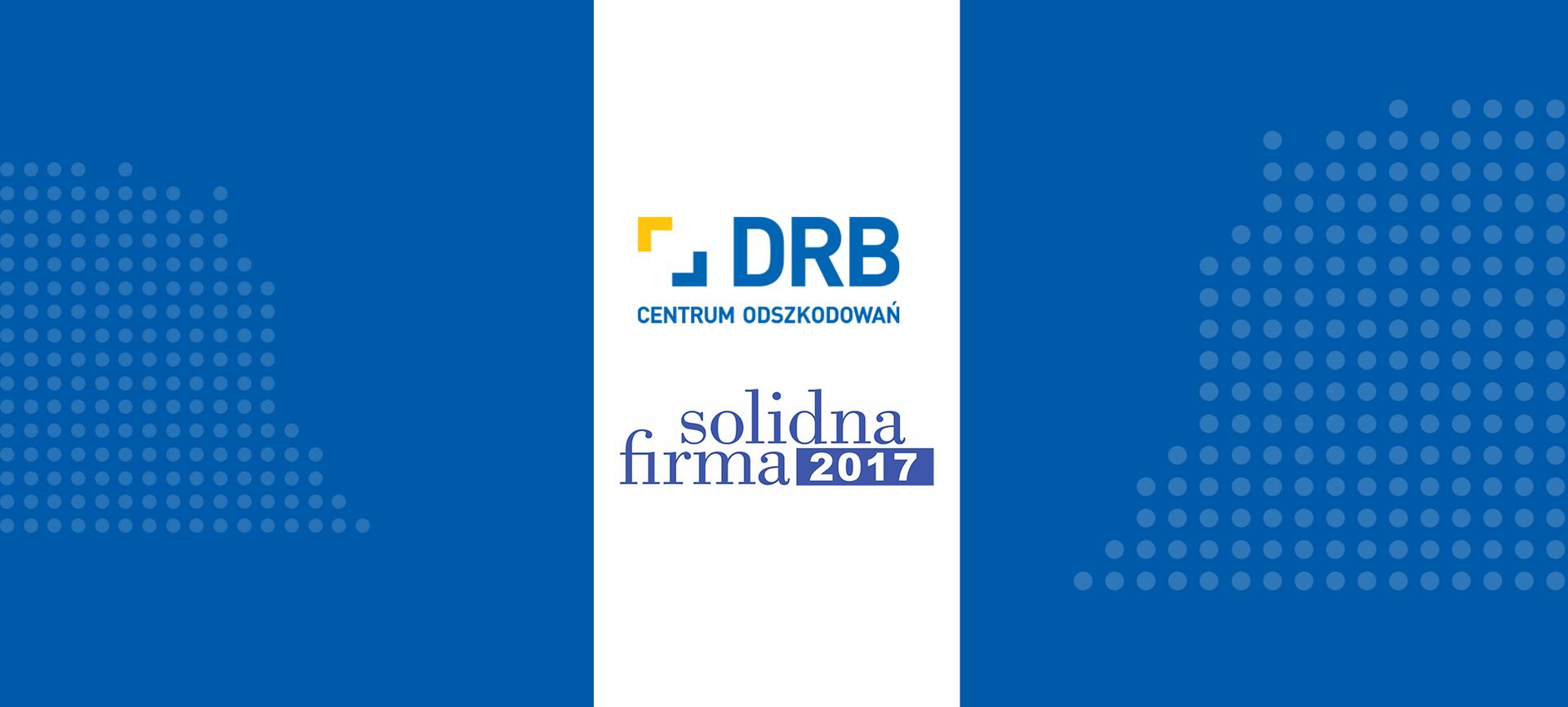 DRB z Certyfikatem Solidna Firma 2017