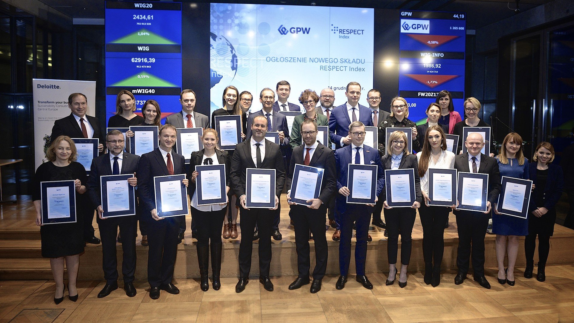 Inter Cars honoured by the Warsaw Stock Exchange