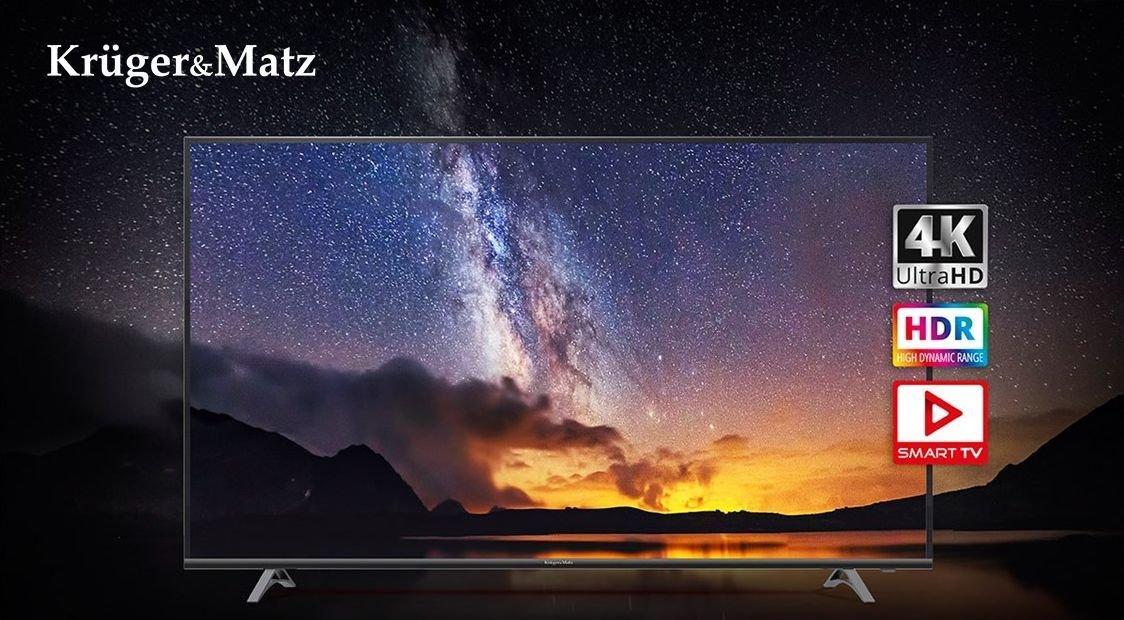 Noi televizoare SMART în oferta Kruger&Matz