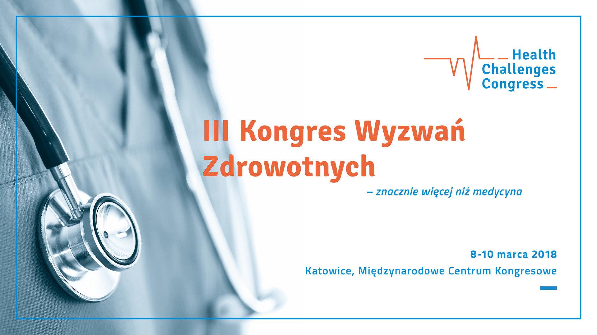 ZnanyLekarz partnerem Kongresu Wyzwań Zdrowotnych (HCC) w Katowicach