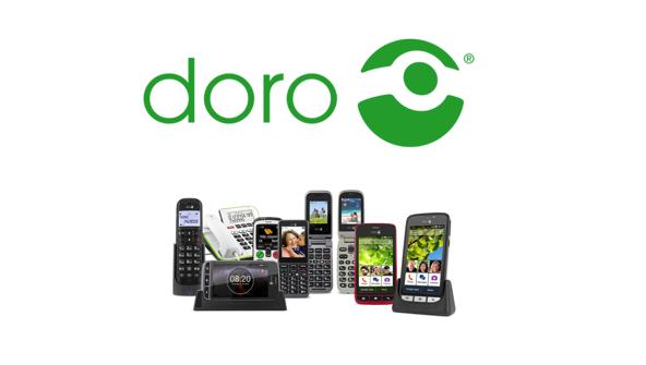 Doro lanceert twee nieuwe telefoons om generaties met elkaar te verbinden