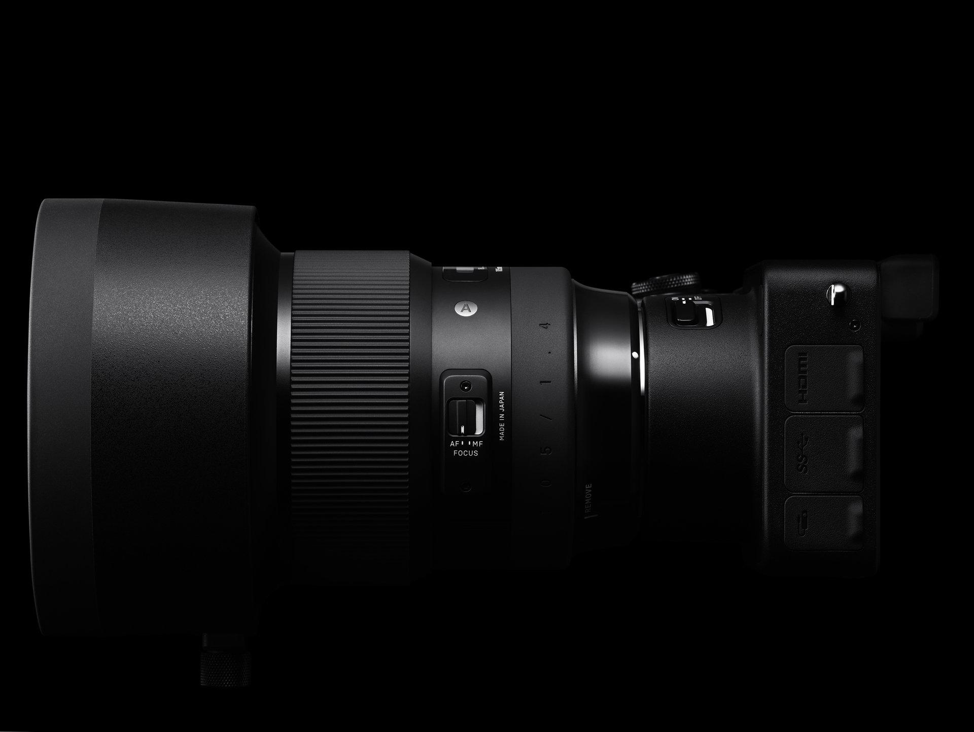 Kolejna nowość w ofercie marki SIGMA - 105mm F1.4 DG HSM