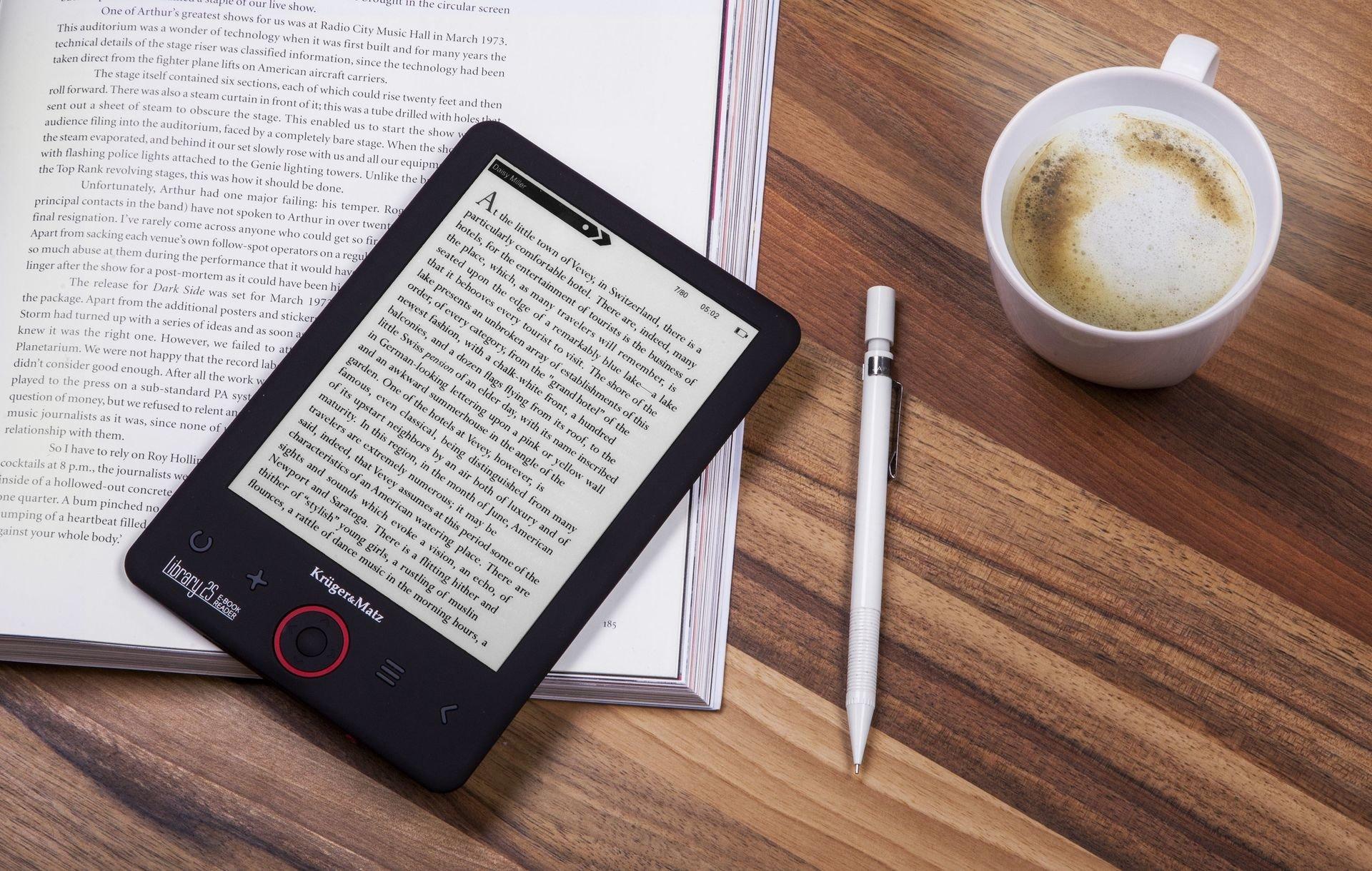 Kruger&Matz wprowadził do oferty nowe czytniki e-book