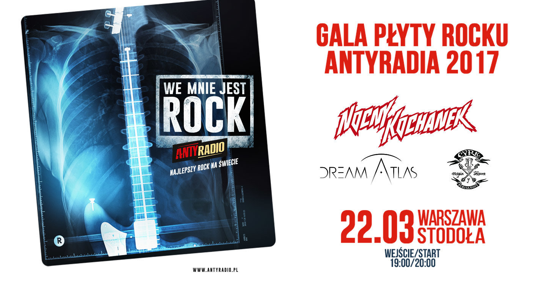 "Gala ""Płyta Rocku Antyradia"" 2017"