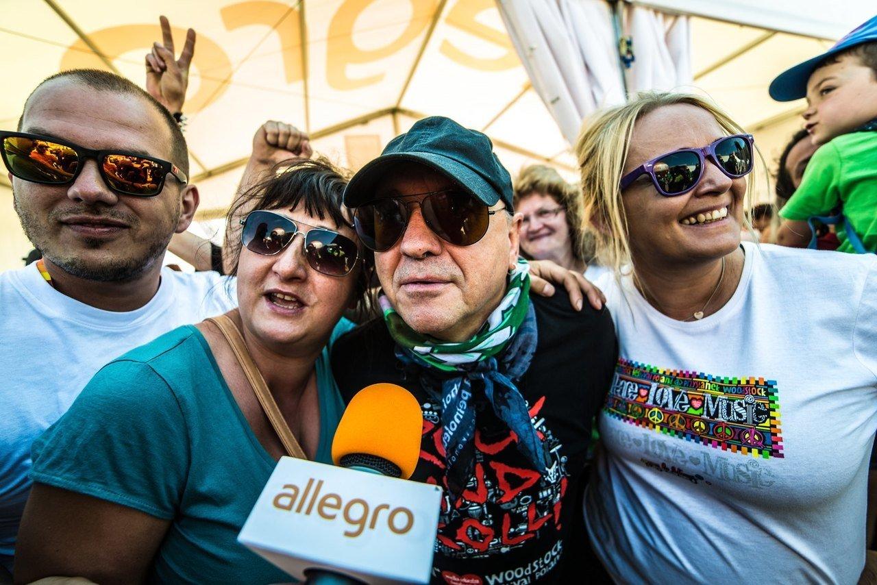 Jurek Owsiak w Strefie Allegro