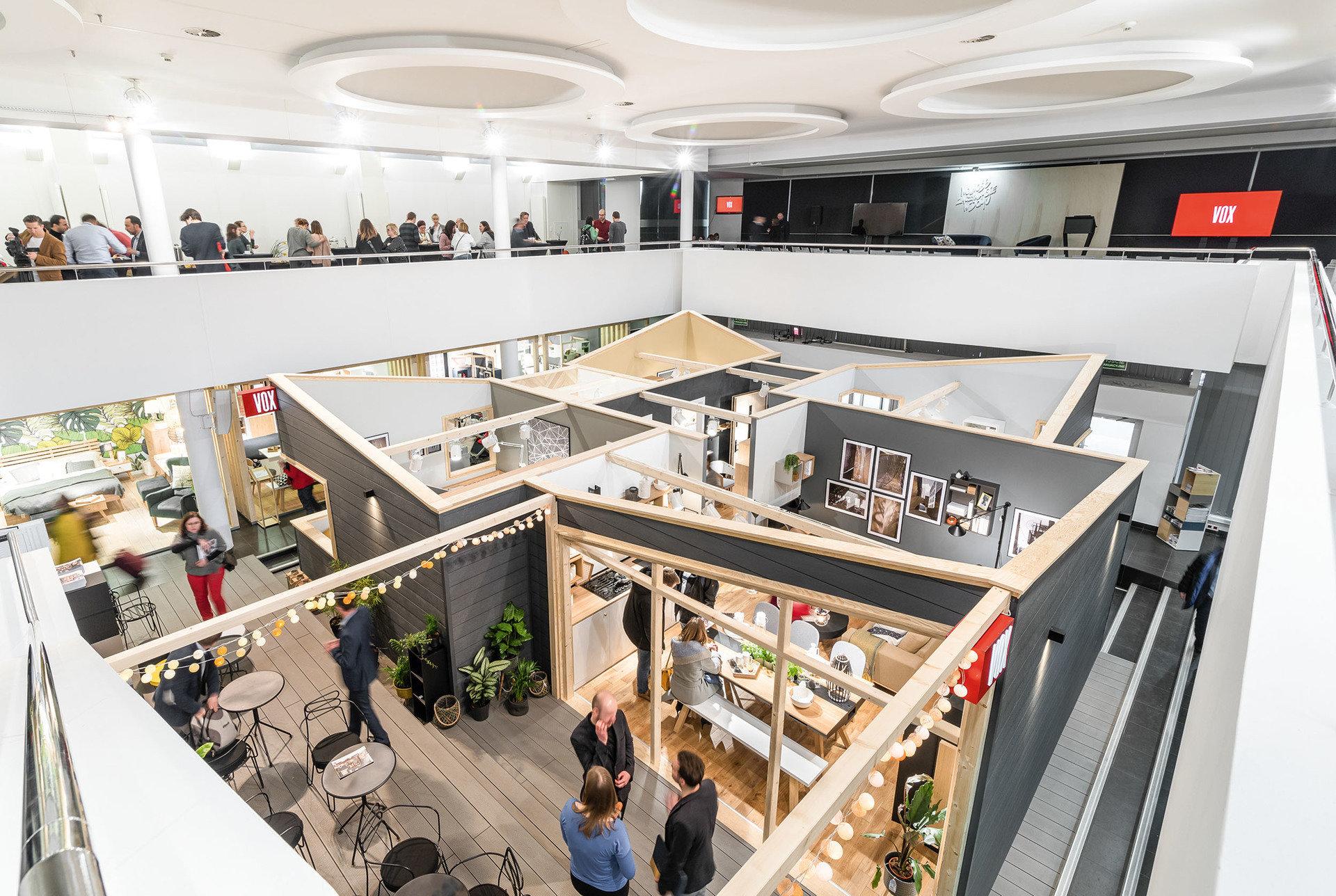 Jak w domu –  VOX na targach Meble Polska 2018 i Arena Design