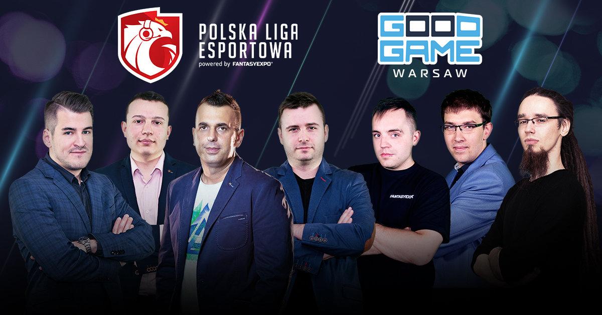 Polska Liga Esportowa na Good Game - Warszawskie Targi Gier. Na miejscu spotkasz najbardziej znanych esportowych influencerów i komentatorów