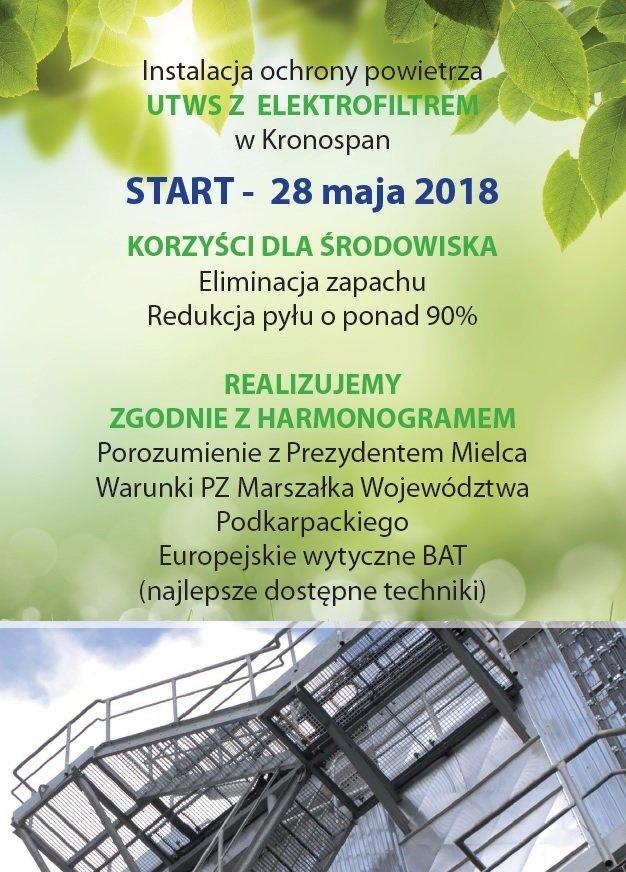 Innowacyjny system ochrony powietrza w Mielcu już w maju!