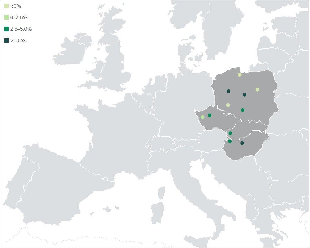 Stawki Czynszu w Polsce Pójdą w Górę