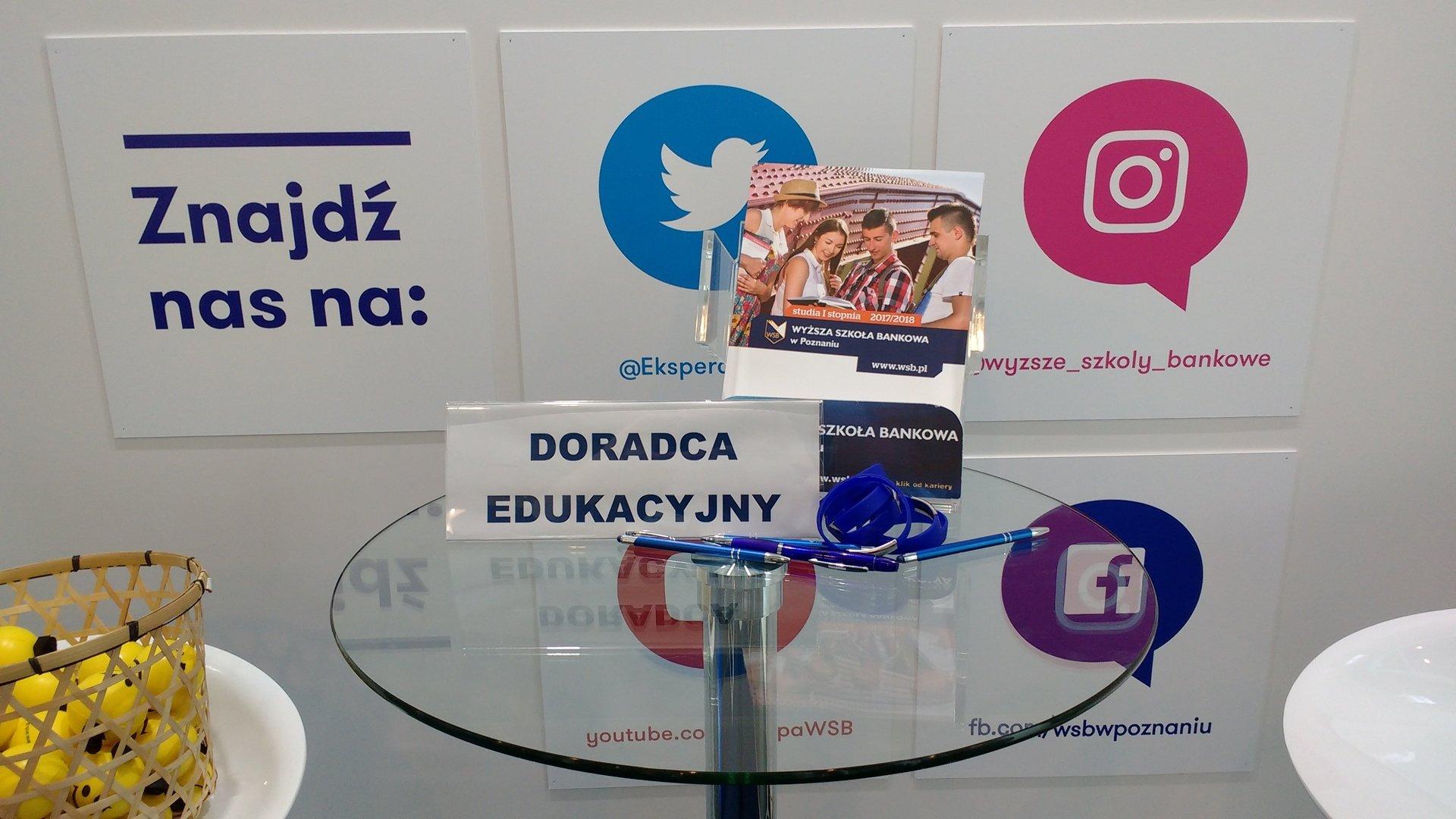 WSB na targach edukacyjnych w Poznaniu