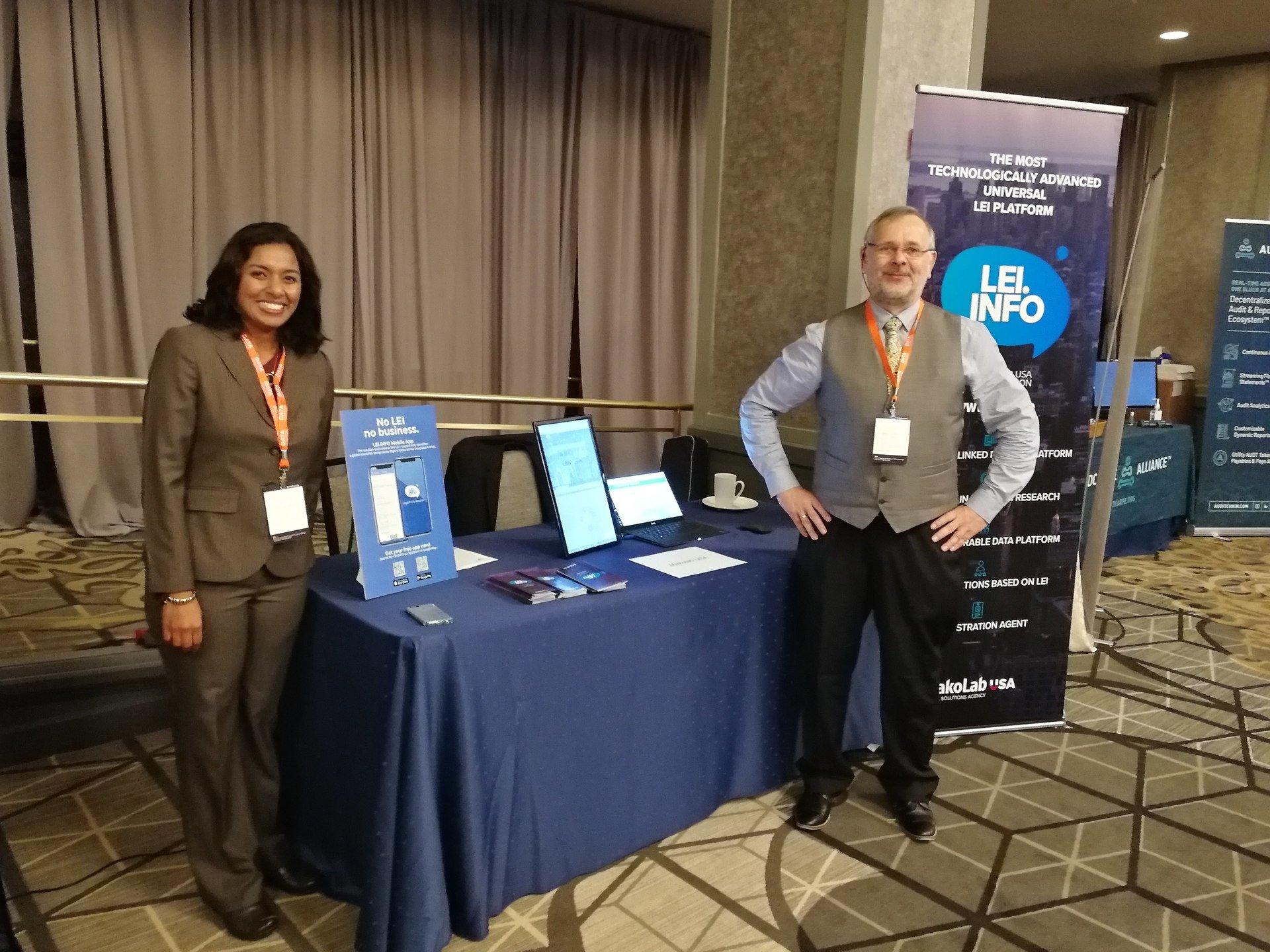 MakoLab presents the new LEI.INFO SAAS Platform at RegTech Data Summit 2018