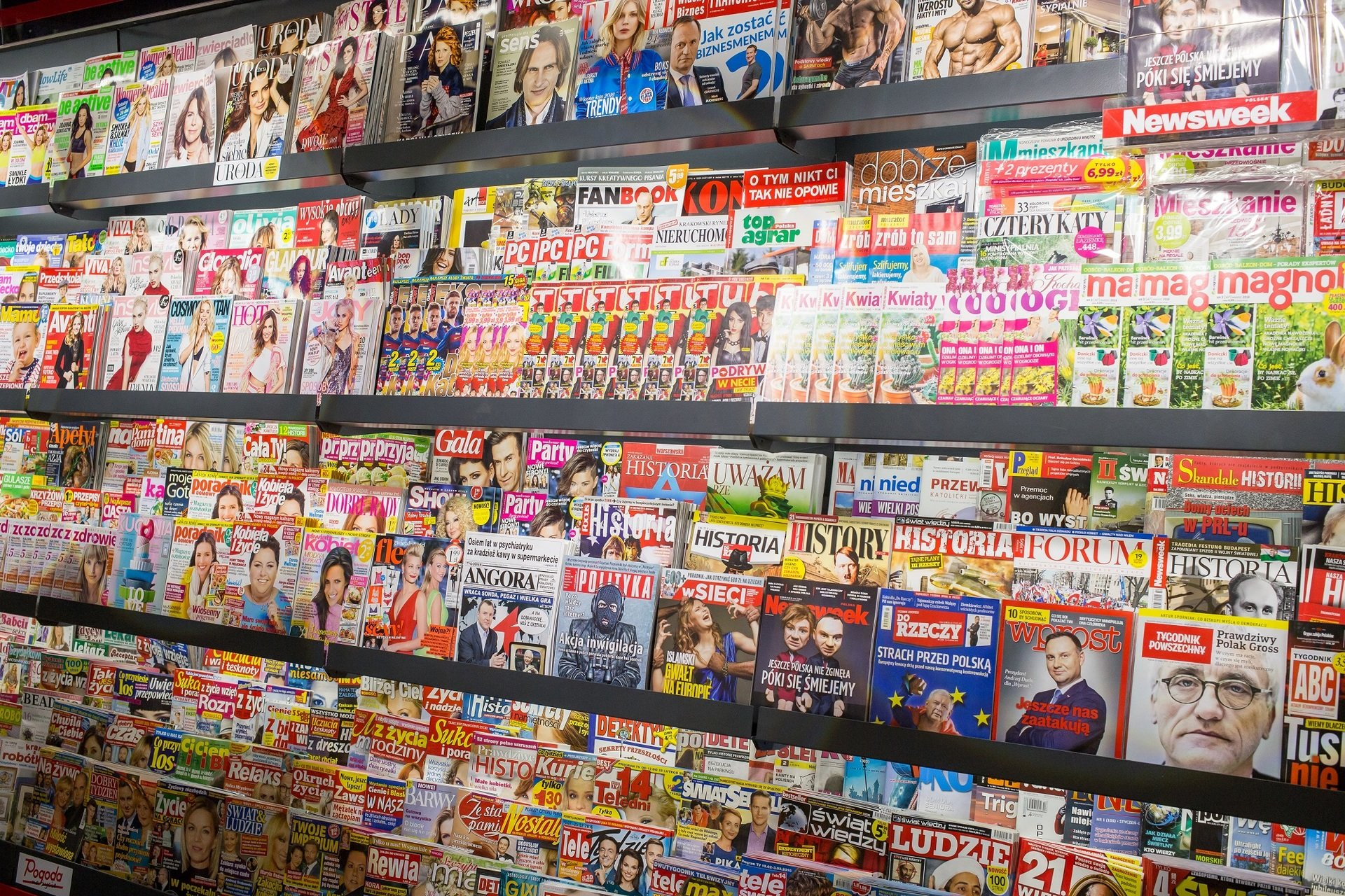 Kolporter pozytywnie o rynku prasowym w 2017 r.