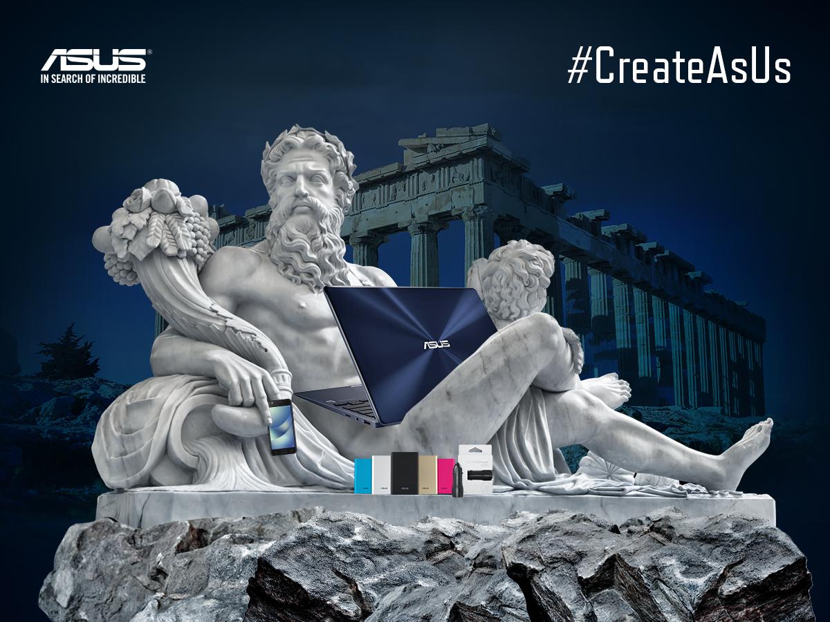 Nowa odsłona kampanii #CreateAsUs w świecie greckiej mitologii