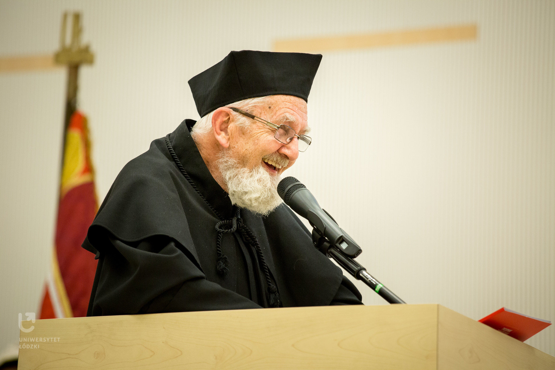 Ksiądz Adam Boniecki doktorem honoris causa Uniwersytetu Łódzkiego