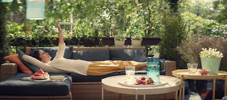 """Odpoczywanie to nie jest """"nicnierobienie""""  - udowadnia IKEA w swojej nowej kampanii"""