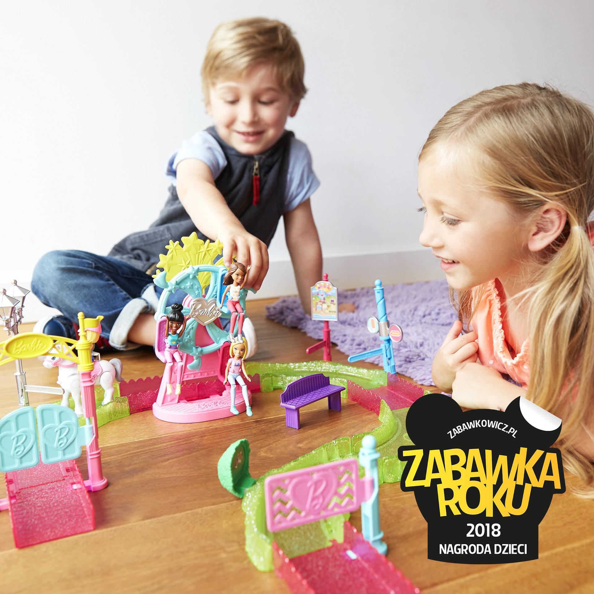 Barbie On The Go z Nagrodą Dzieci 2018
