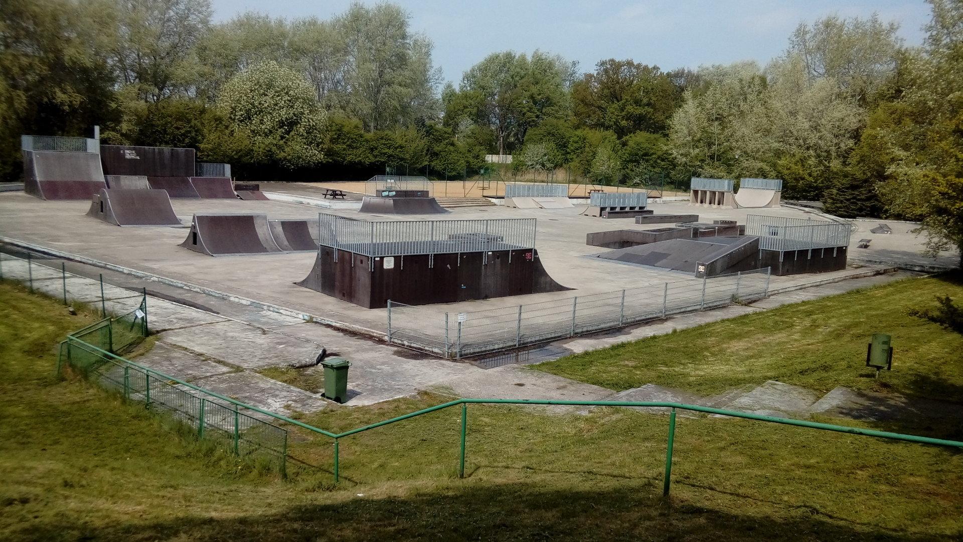 Zmiany w skateparku na Oddziale Rataje
