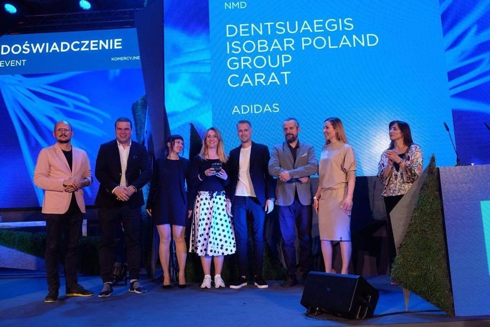 Kampania marki adidas ze srebrem w Innovation 2018