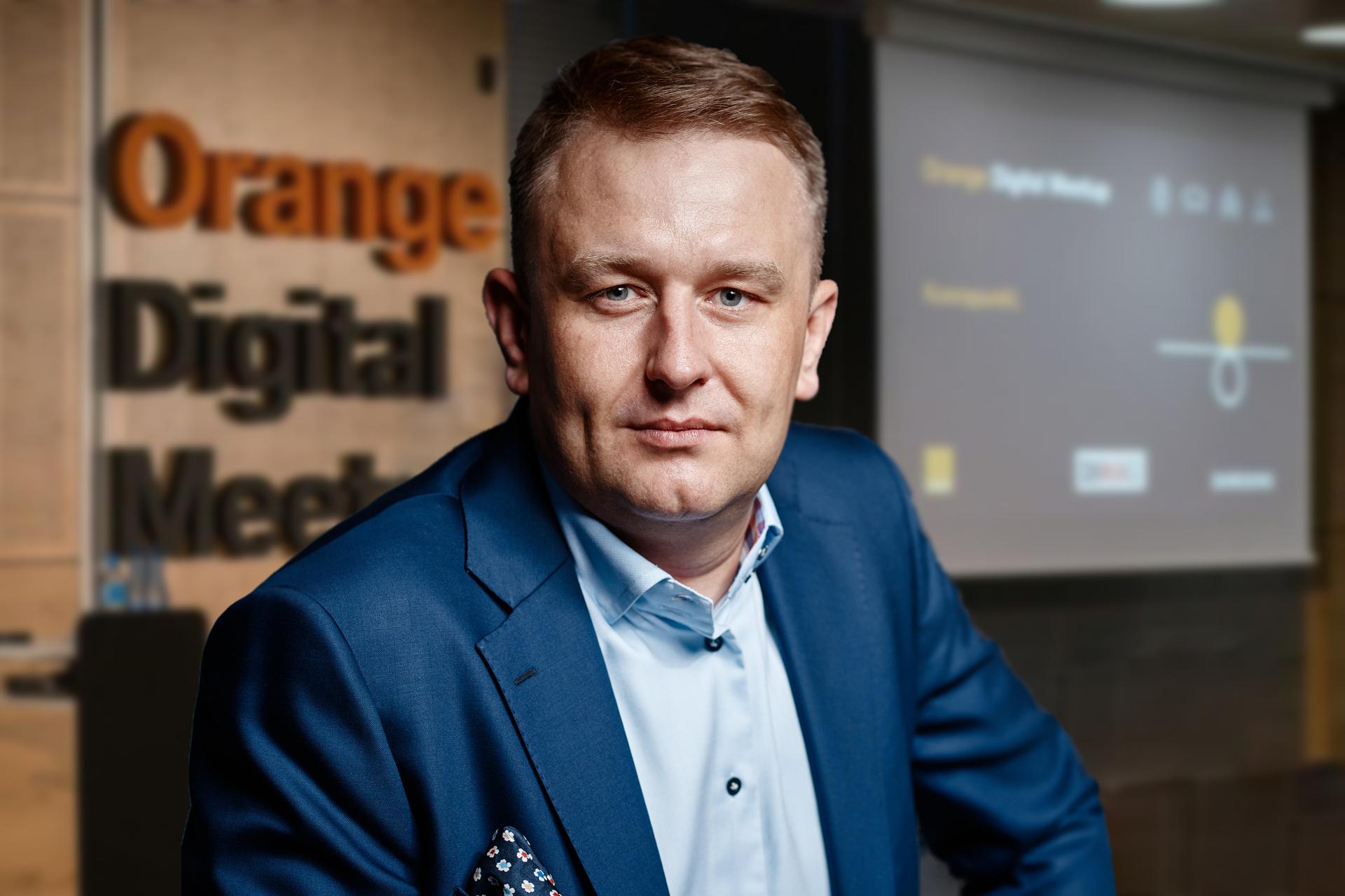 Arkadiusz Seredyn, dyrektor ds. cyfrowej transformacji Orange, dołącza do Synerise