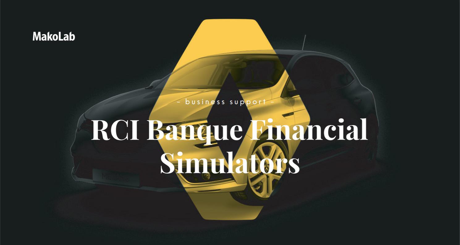 RCI Banque Financial Simulators - case study