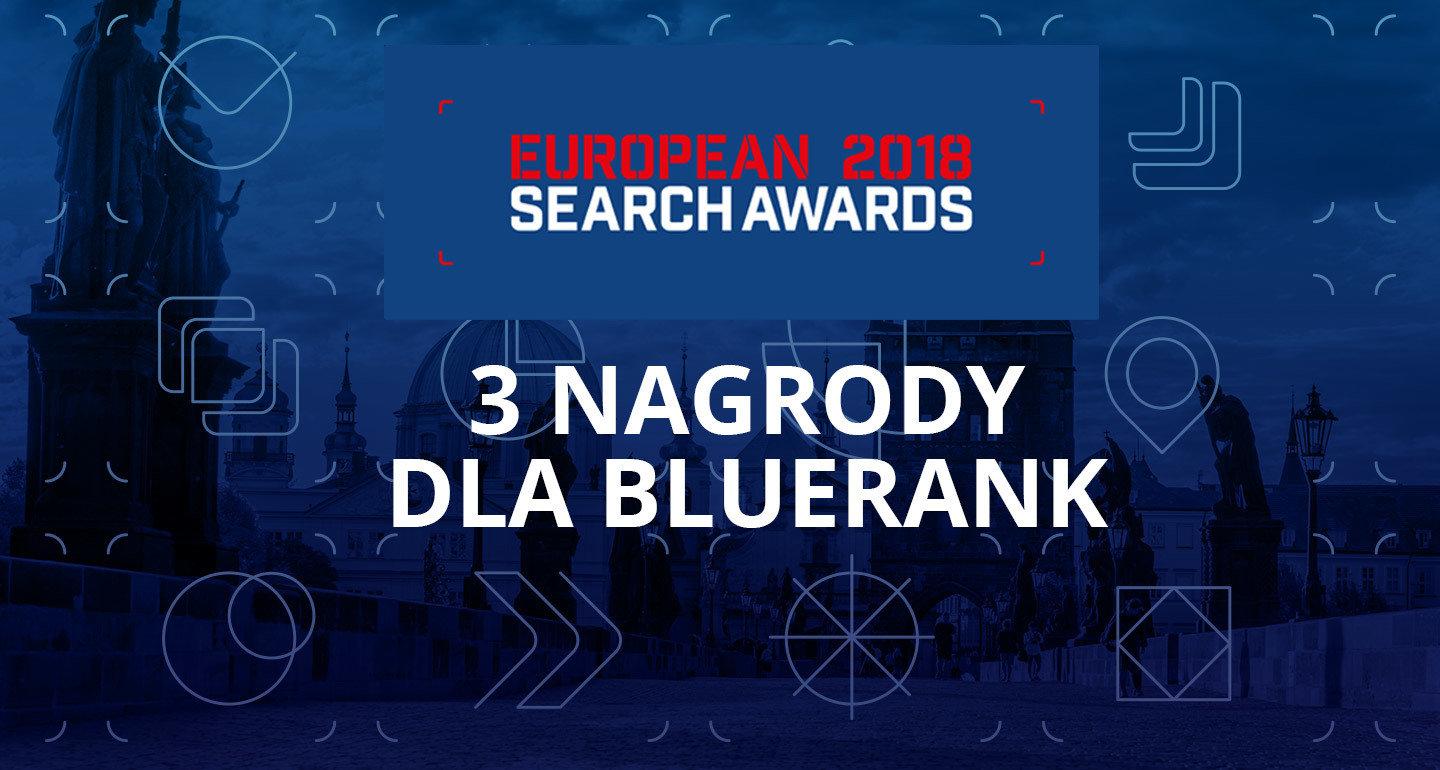 ESA 2018: Potrójne zwycięstwo Bluerank