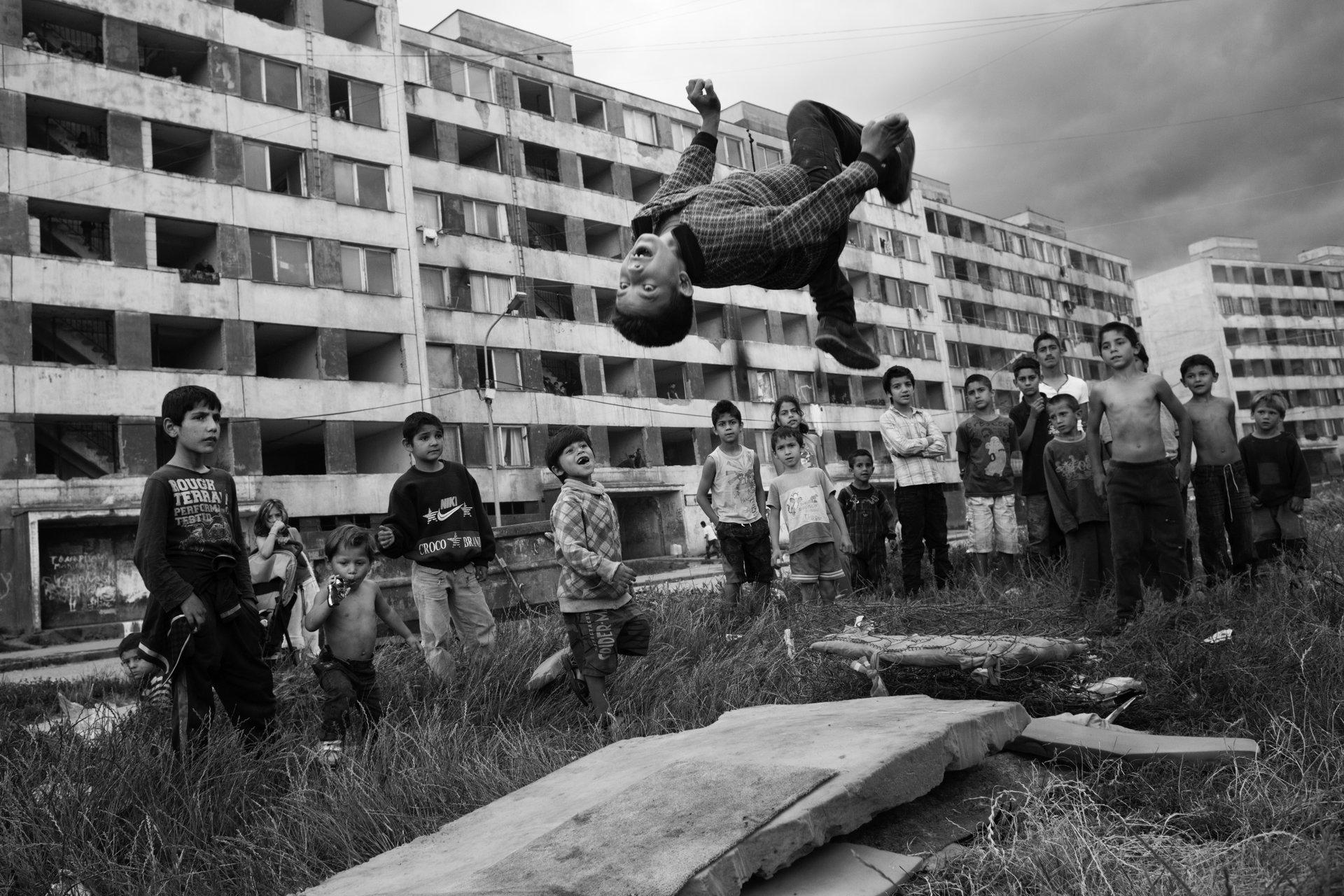 Fotodokumentation av situationen för romer i tio europeiska länder