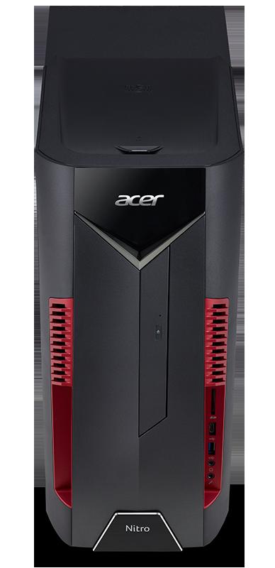 Rodzina Acer Nitro powiększa się o komputery stacjonarne i monitory do gier