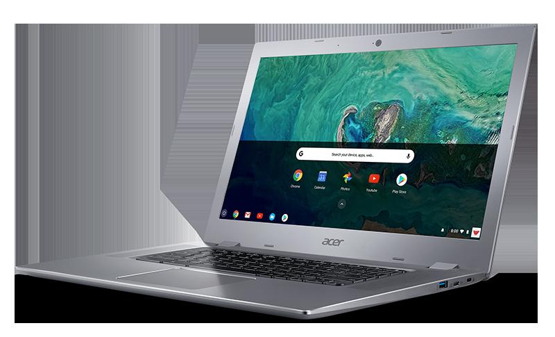 Nowe Chromebooki Acer do domu i biura