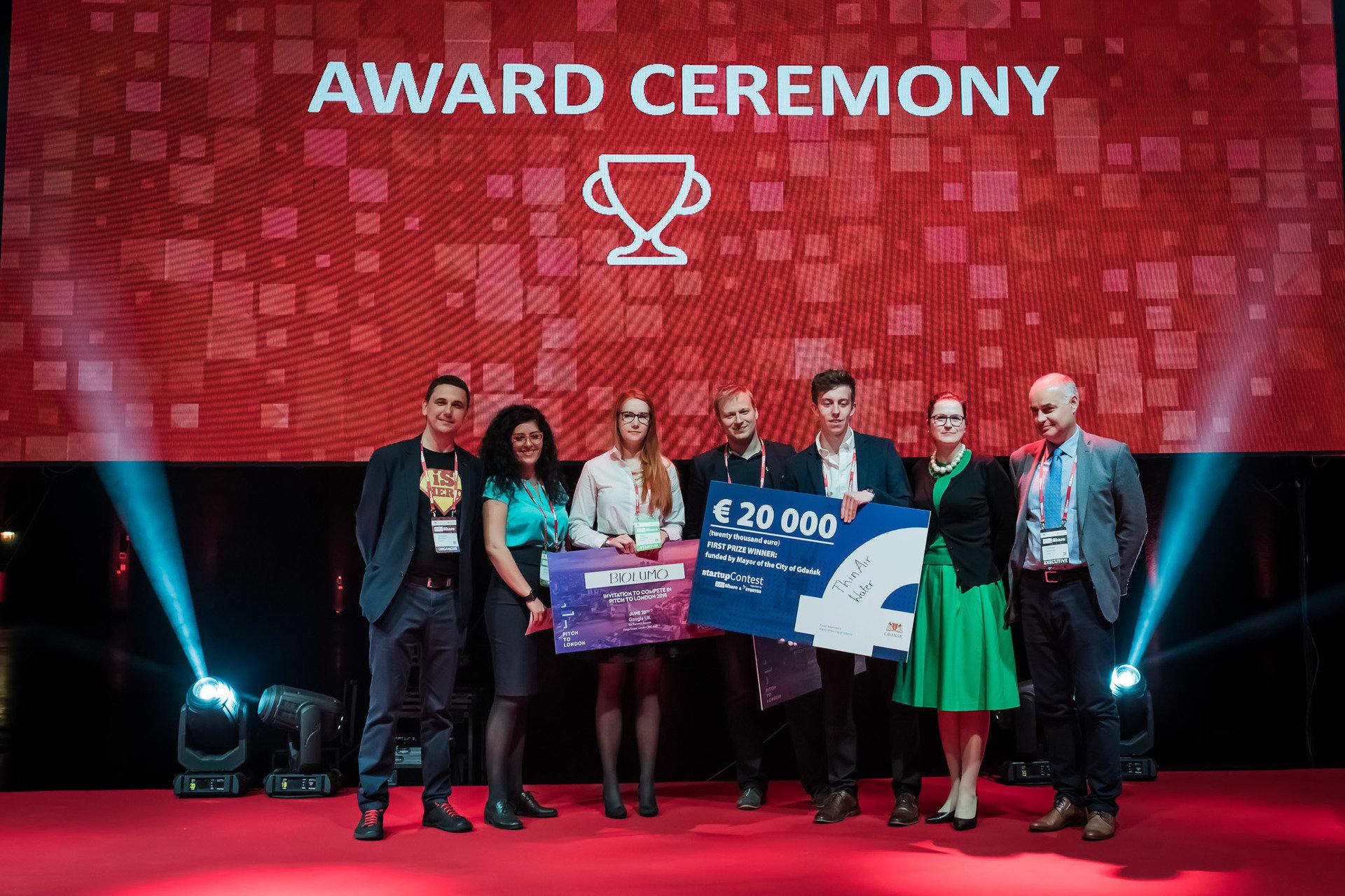 THINAIR WATER najlepszym startupem infoShare Startup Contest 2018! 20 tysięcy Euro nagrody pomoże im zmienić świat.