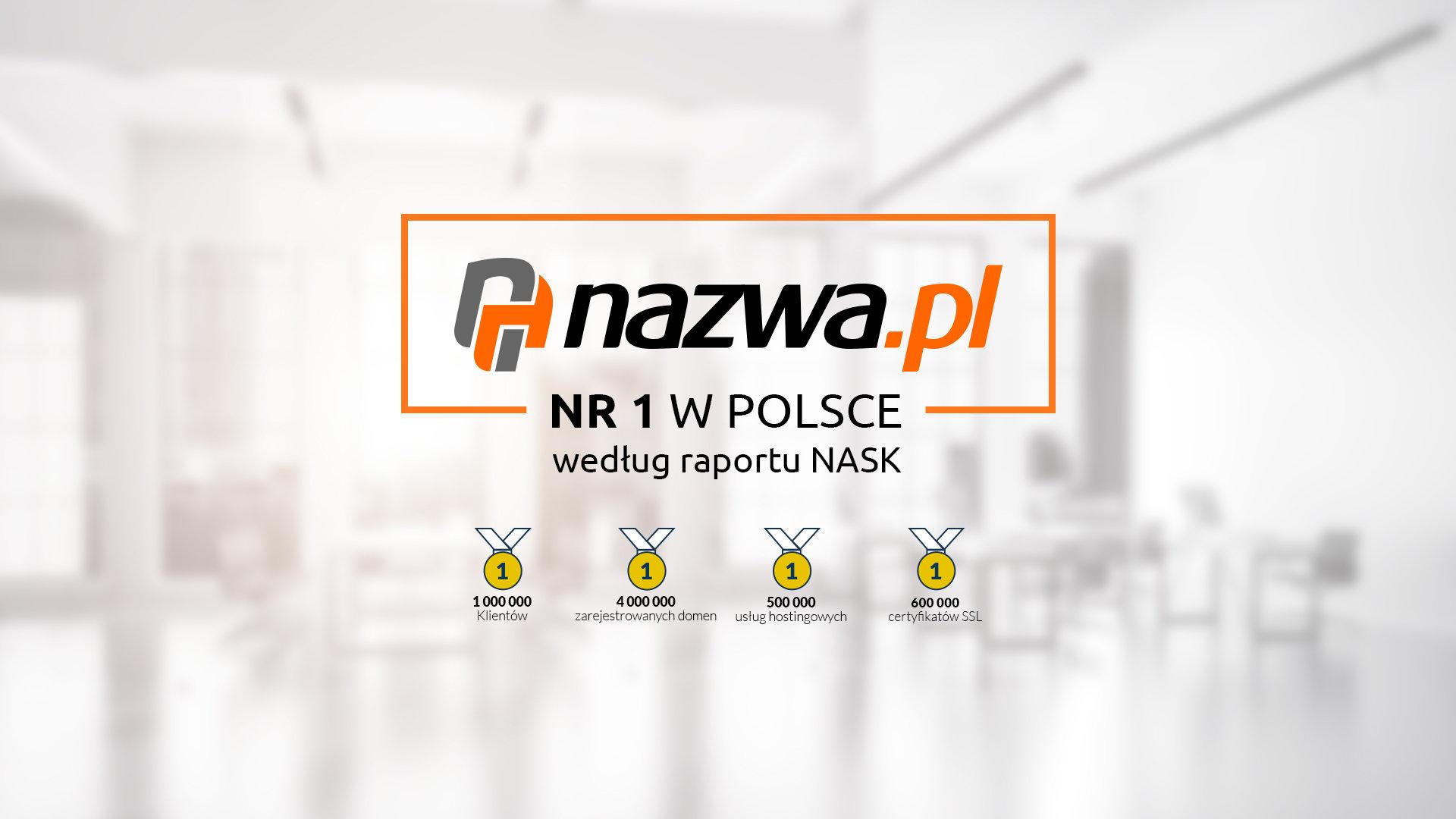 NASK podsumowuje rok w domenie .pl  Nazwa potrójnym nr 1 rejestru