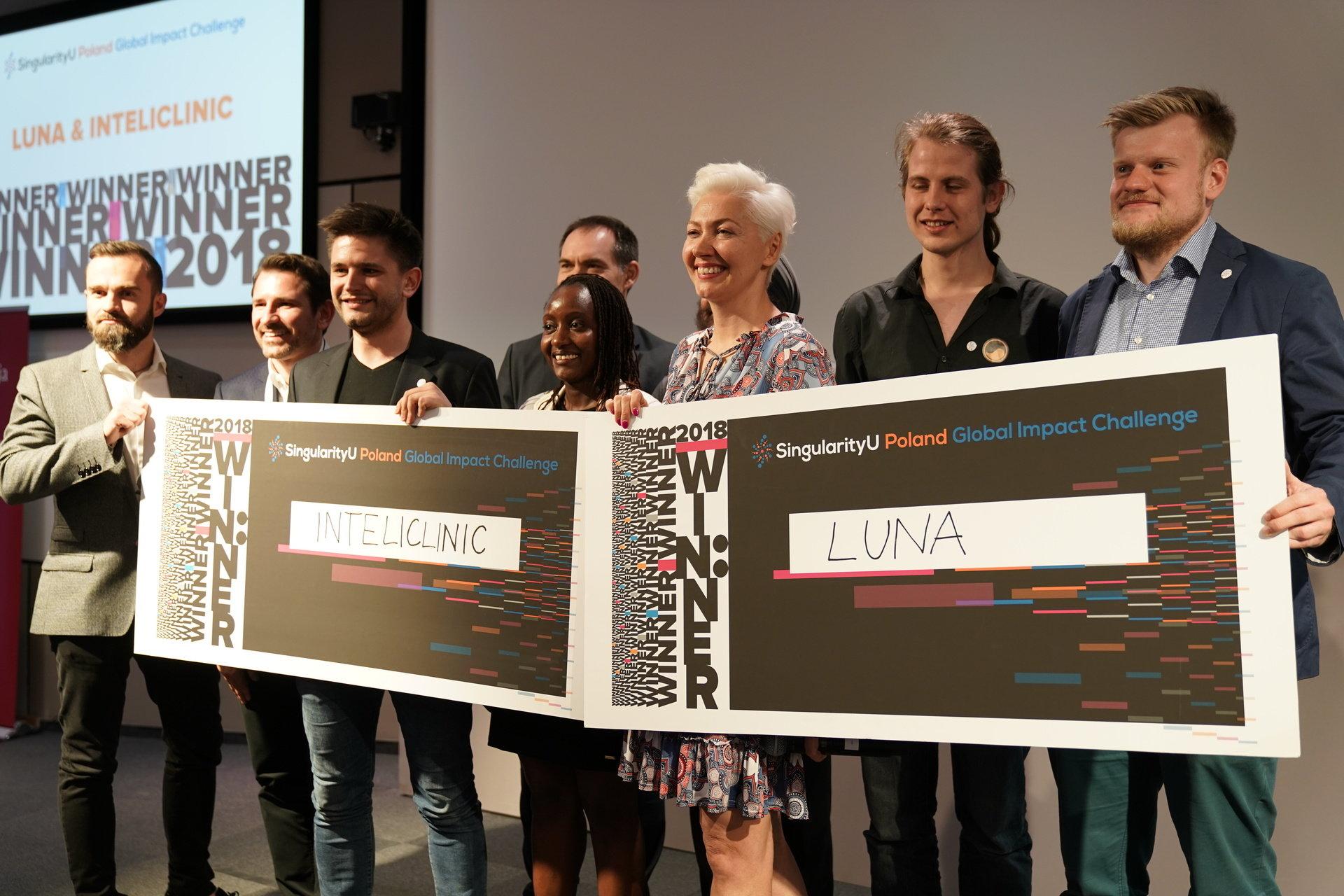 Luna i Cardio technology laureatami pierwszej polskiej edycji Global Impact Challenge!