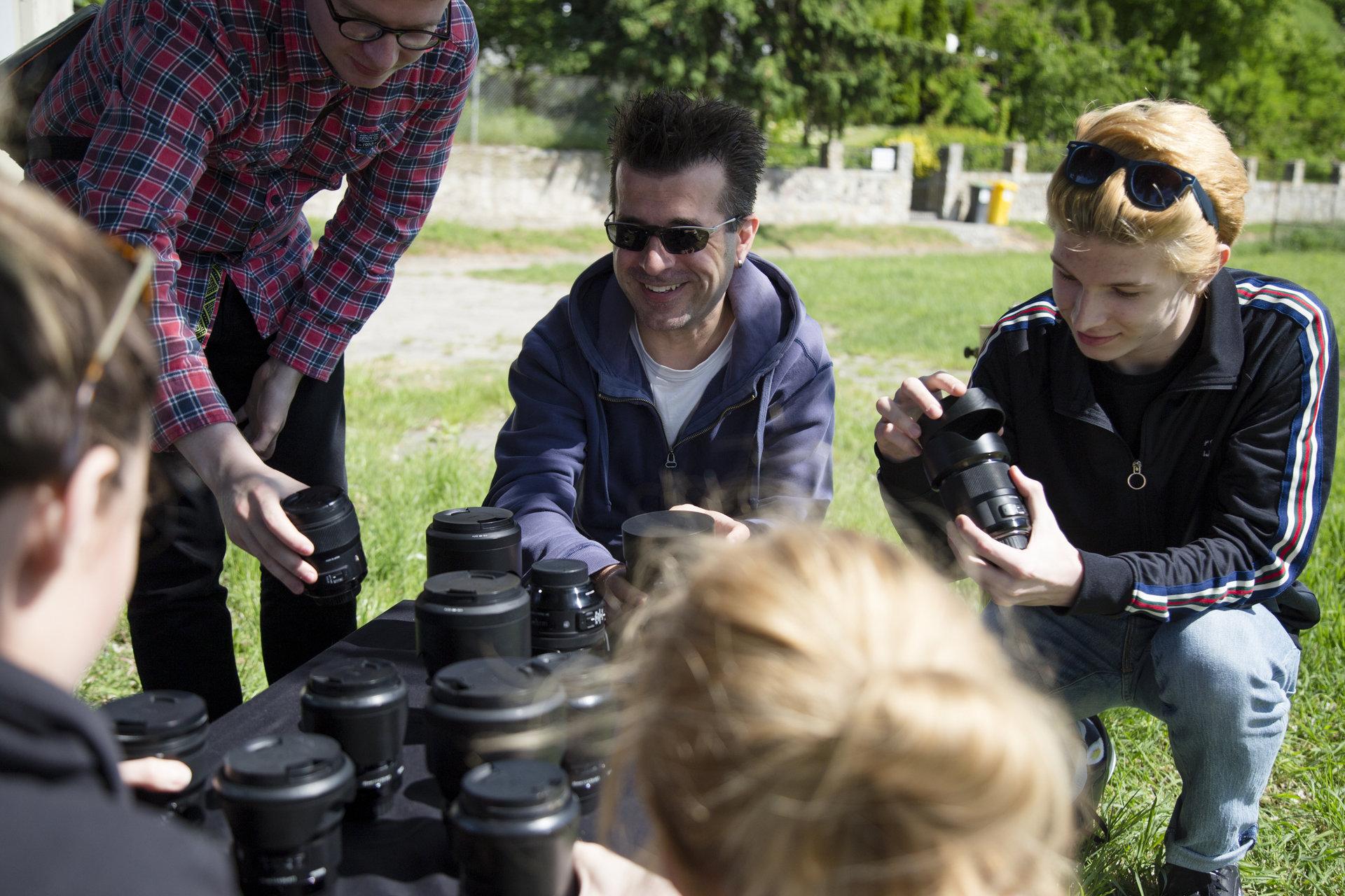 Wspieramy młodych fotografów! Warsztaty z Sopocką Szkołą Fotografii