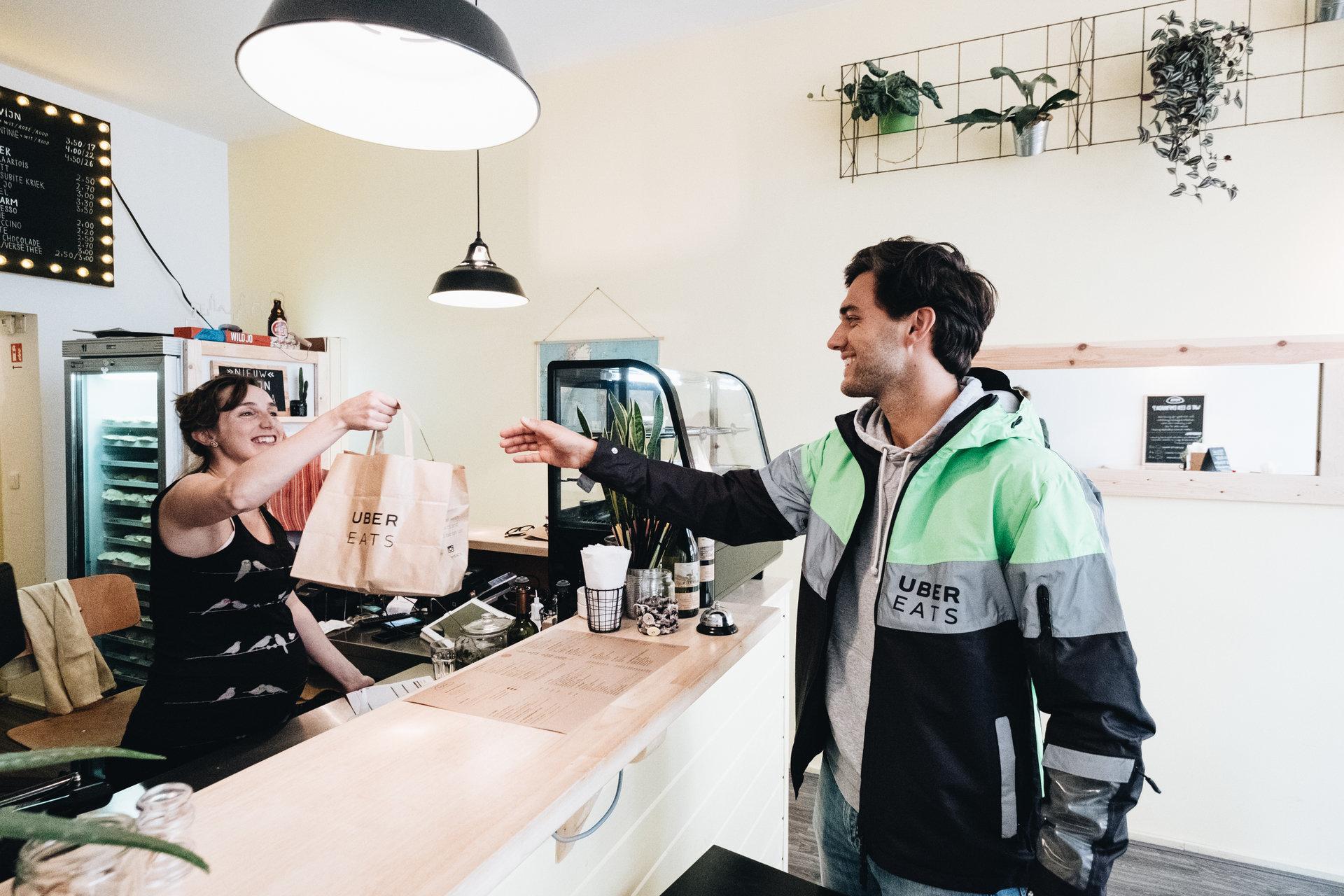 Uber Eats lance sa 10ème ville en Belgique: Bruges