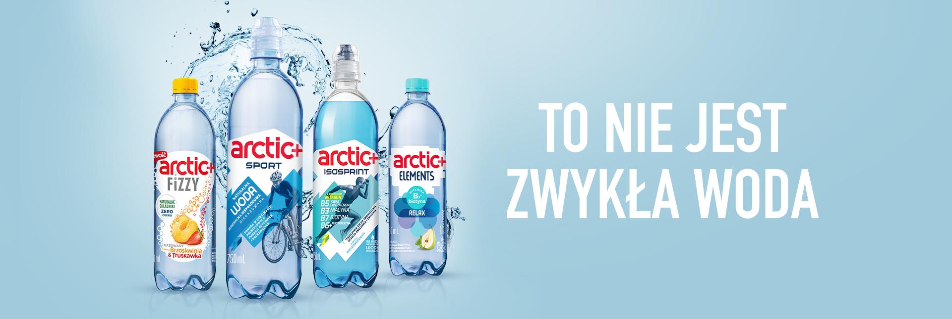 To nie jest zwykła woda! Hand Made  z kampanią wody Arctic+
