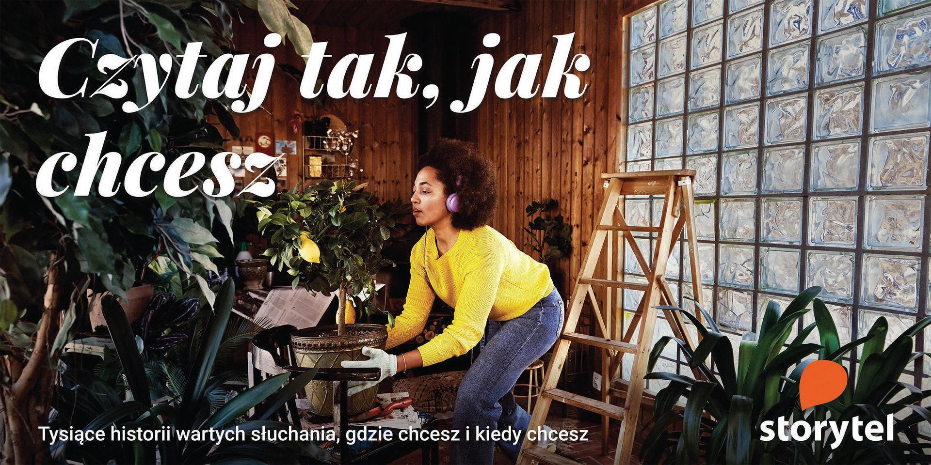 Rusza nowa kampania Storytel Polska