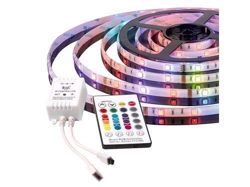 Taśma muzyczna LED – nowość dla miłośników najlepszego brzmienia
