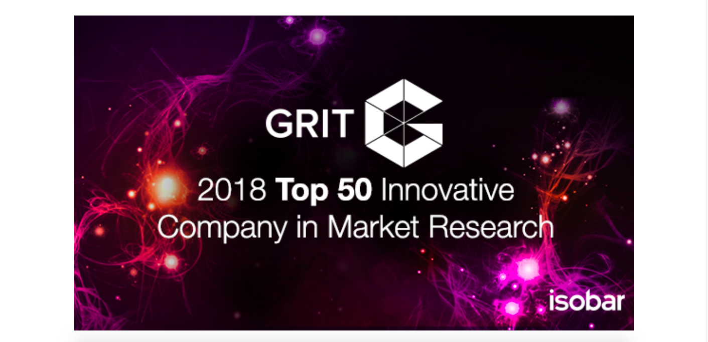 """Isobar Marketing Intelligence Practice wśród """"50 najbardziej innowacyjnych firm badawczych na rynku"""""""