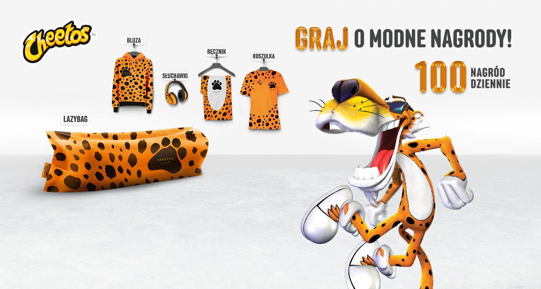 Influencerzy w telewizyjnej kampanii marki Cheetos
