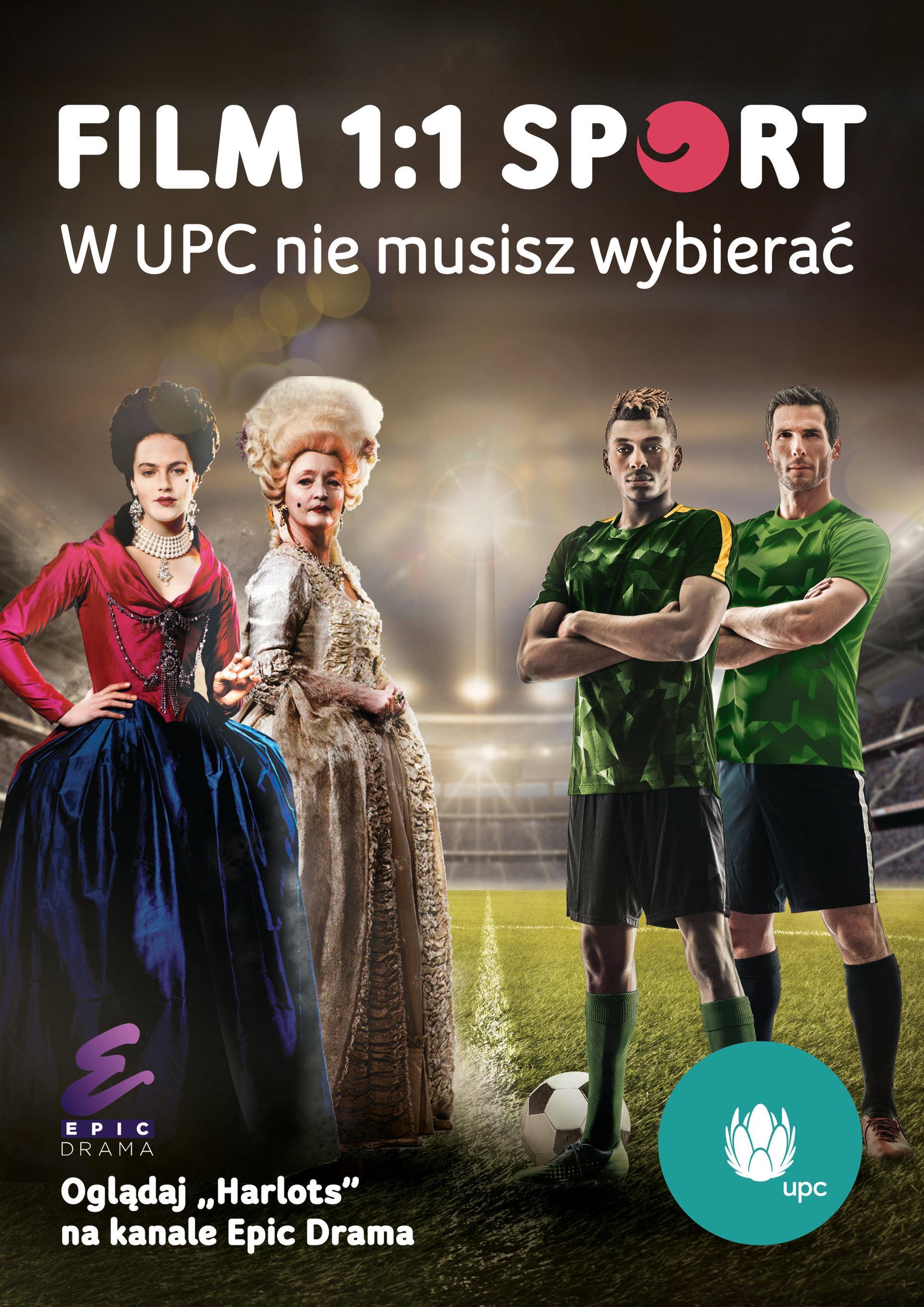 UPC Polska poszerza swoją ofertę telewizyjnej rozrywki o kanał Epic Drama