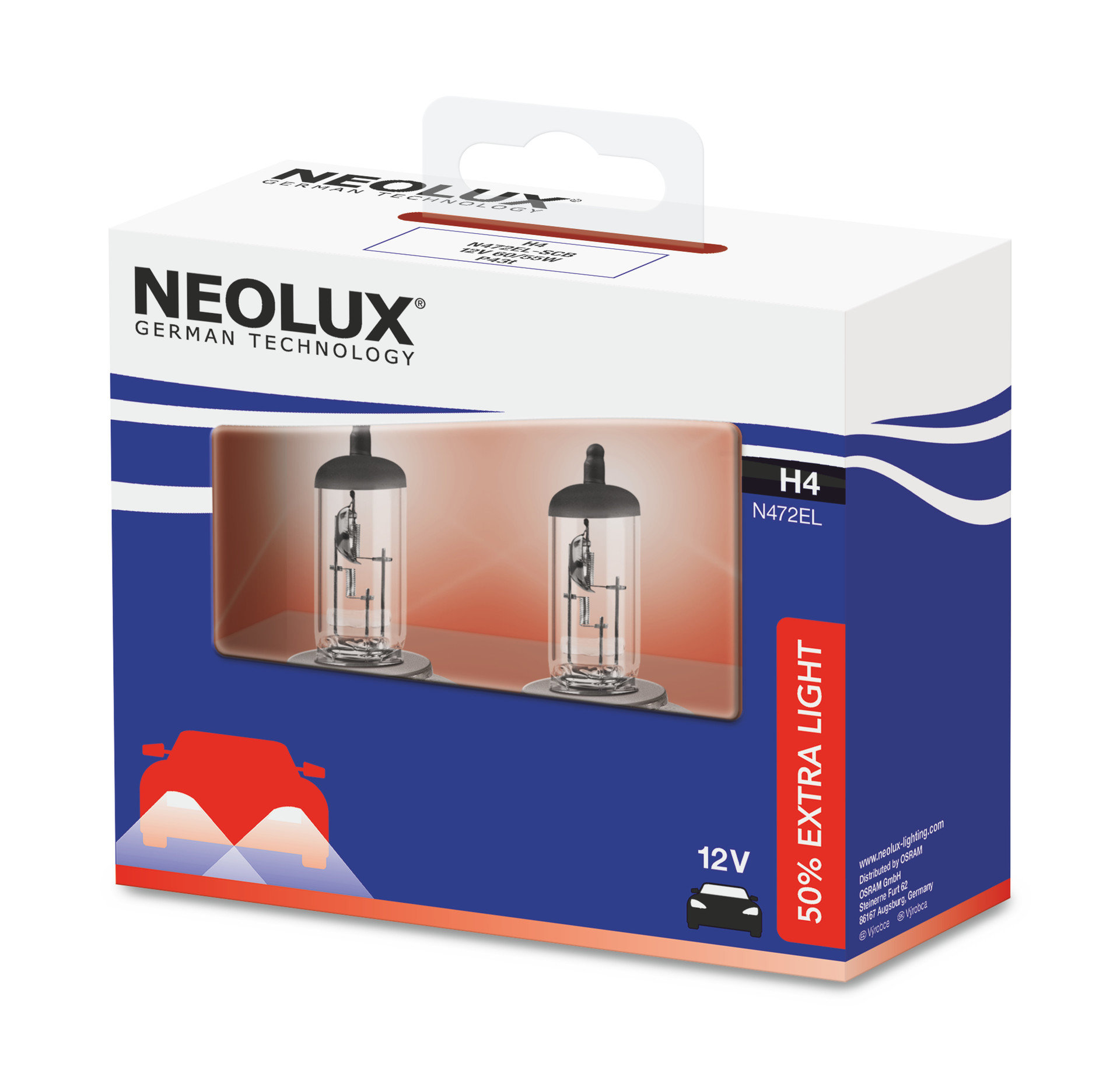 Pełna gama żarówek Neolux dostępna w asortymencie Inter Cars