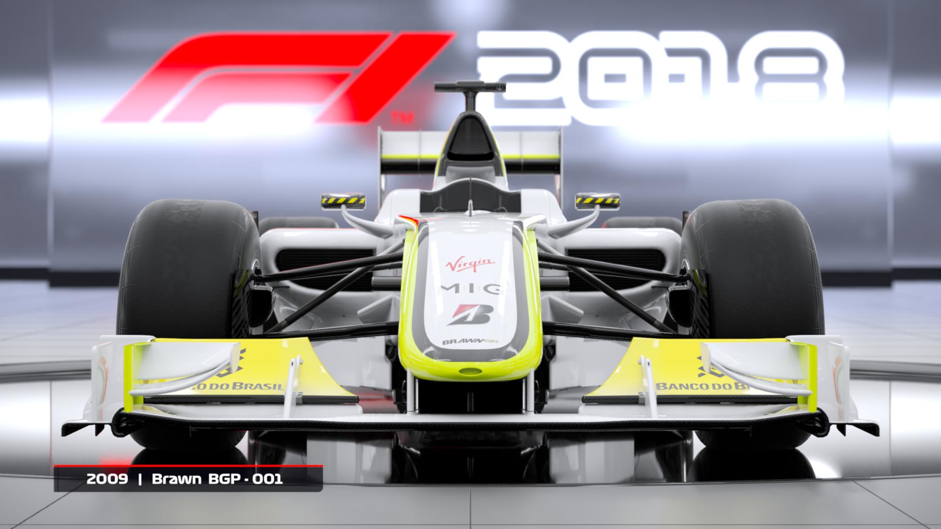 F1 2018 - dwa klasyczne bolidy dostępne w edycji Day One