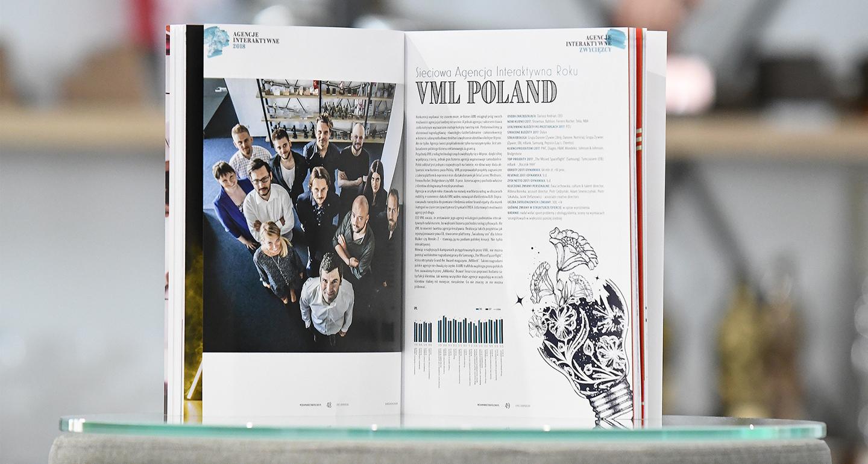 VML Poland Sieciową Agencją Interaktywną Roku