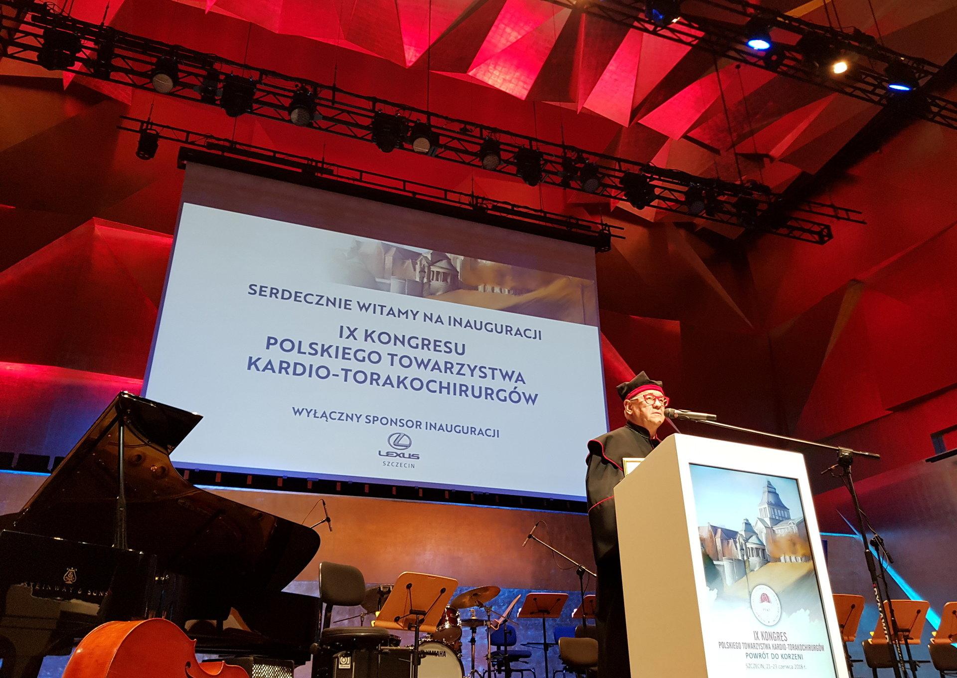 Nagroda dla Jurka Owsiaka od Polskiego Towarzystwa Kardio-Torakochirurgów