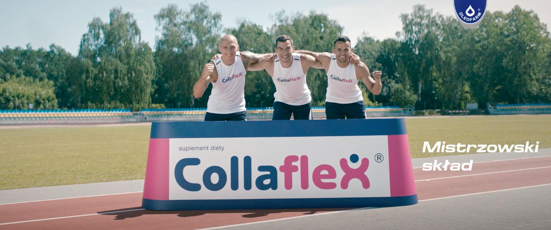 Mistrzowski skład - nowa kampania Hand Made dla Collaflex® i Collaflex® Sport