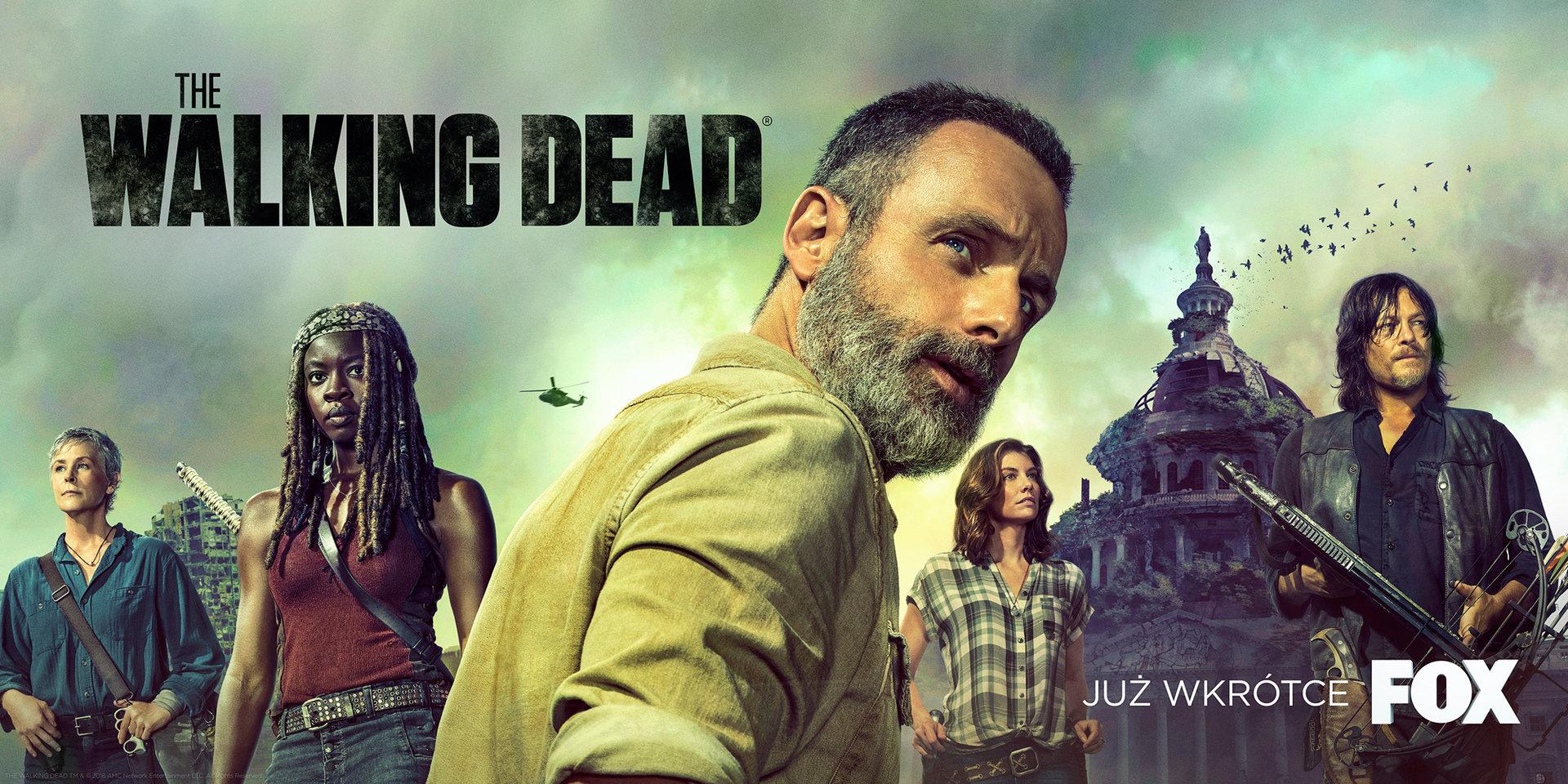 Nadchodzi 9. sezon The Walking Dead! Oto specjalny plakat na San Diego Comic Con 2018!