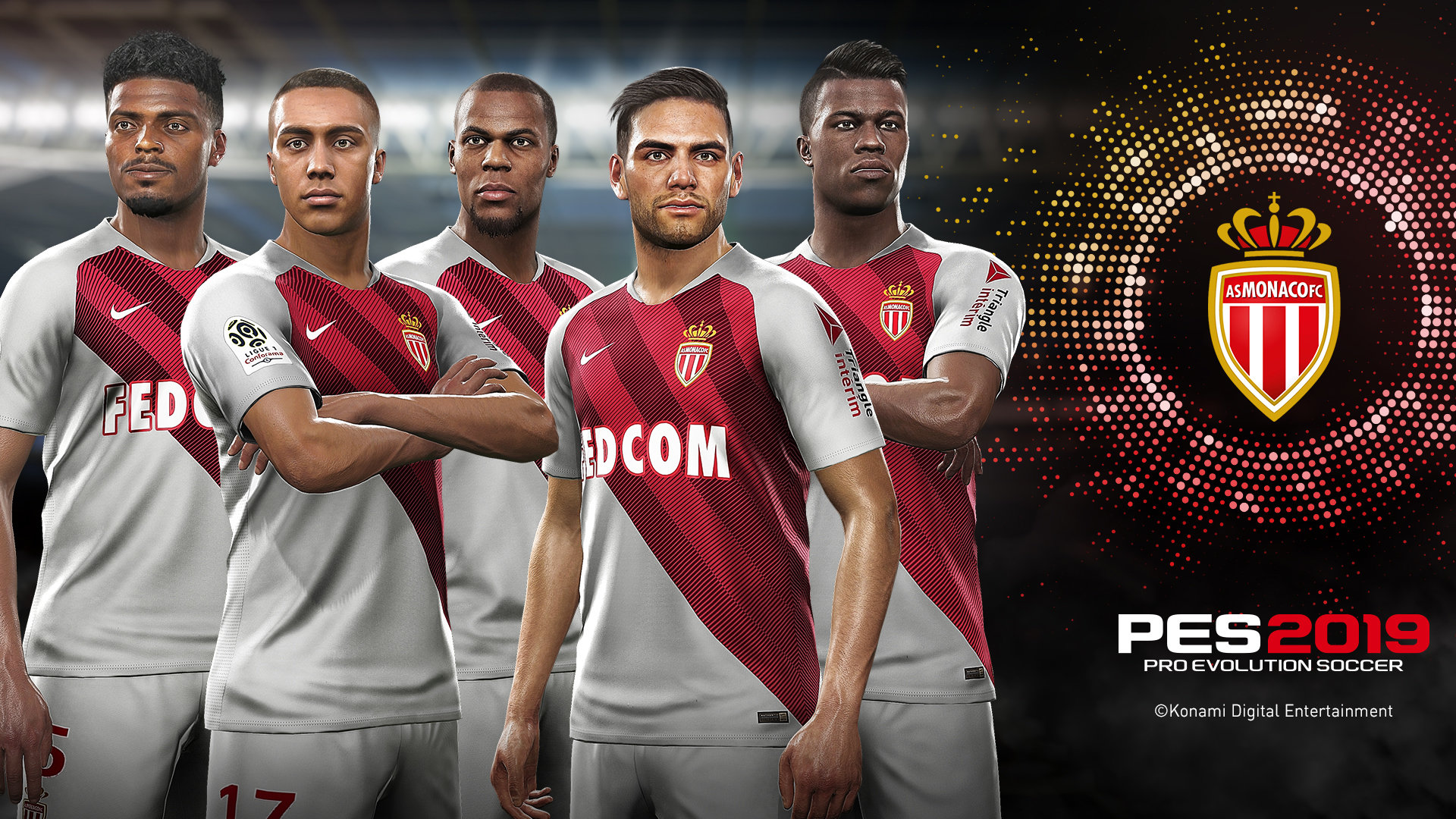 AS Monaco partnerem Konami