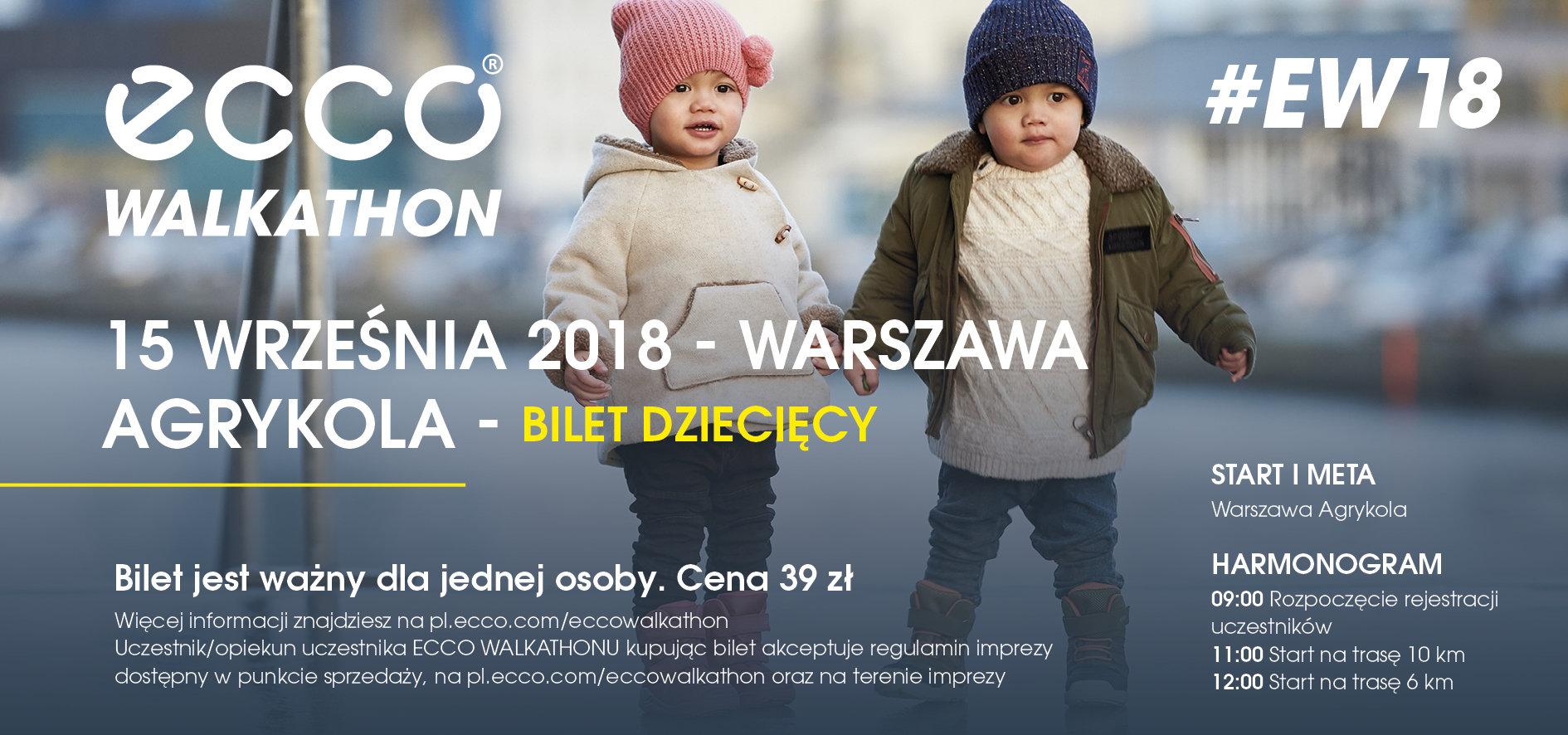 Bilety na ECCO Walkathon już w sprzedaży!